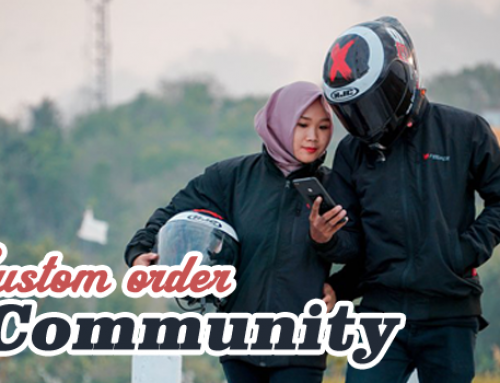 Jaket Custom Untuk Grup atau Komunitas, Logo Sendiri